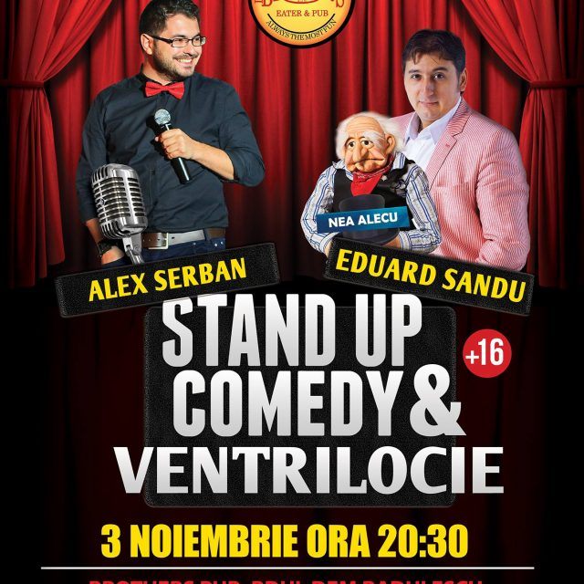 Stand Up comedy si Ventrilocie